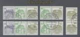 Bund Zusammendruck Mi # W 75/W 78 gestempelt aus MH 24 incl. senkr. Paar 1140 (34919)