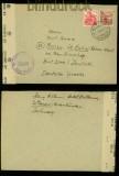 Schweiz Auslands-Zensur-Brief alliierte Zensur Wiesen 1946 (41230)