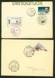 Russland zwei Belege Polarexpeditionen 1969 und 1977 (41233)