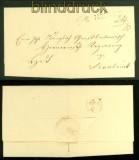 Vorphila-Briefhülle Meppen nach Osnabrück (41617)