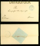 Dienstbriefhülle Meppen nach Freren (41621)