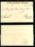 Dienstbrief Münster nach Wietmarschen bei Lingen 1867 (41622)