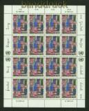 UNO Wien Mi # 36/37 im Bogensatz postfrisch Menschenrechte (34892)