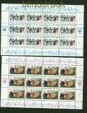 UNO Wien Mi #  75/76 im Bogensatz postfrisch (34903)