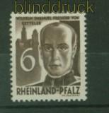 franz. Zone Rheinland-Pfalz Mi # 35 postfrisch (34854)