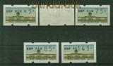 Berlin ATM 1997 Mi # 1 Versandstellensatz 2 postfrisch (35065)