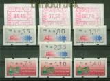 Israel ATM drei Ausgaben 1988, 1990 und 1992 postfrisch (41702)