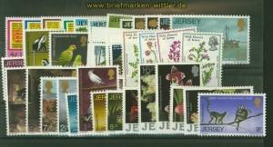 Jersey Kleines Lot postfrischer Ausgaben (34874)