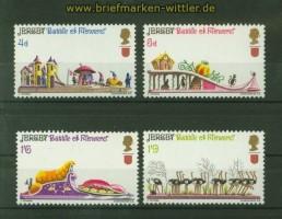 Jersey Mi # 30/33 Blumenfest postfrisch (34875)