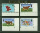 Guernsey Mi # 31/34 Landwirtschaft postfrisch (34878)