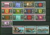 Guernsey Mi # 8/23 Ansichten und Wappen postfrisch (34879)