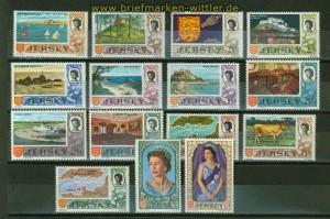 Jersey Mi # 7/23 Ansichten und Wappen postfrisch (34882)