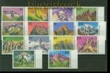 Liechtenstein kleines postfrisches Lot der Dauerserie Berge (34912)