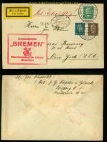 Erster Deutscher Katakpultflug 22.7.1929 Dampfer Bremen (35090)