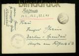 dt. Reich Feldpost 2. WK Feldpostbrief Große Kampffliegerschule Warschau-Okecie 1941 (35097)