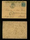 Britisch-Indien GSK 1906 in die Schweiz  Sea Post Office  (41274)