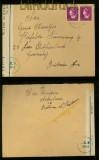 Niederlande Auslands-Zensur-Brief 1947 mit niederländischer Zensur (35123)