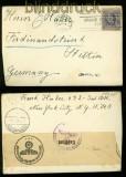 USA Auslandsbrief mit deutscher Zensur 1940 (35133)