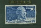 Bund Mi #  116 Heinrich von Stephan postfrisch UPU (34847)