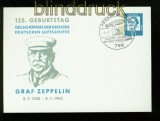 Bund Privat-Postkarte PP 29/7 SSt. Zeppelin 1963 (35073)