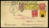 USA Auslands-Luftpost-Brief Detroit 1933 (40209)