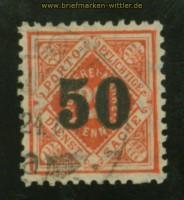Württemberg Dienst Mi # 188 gestempelt Fotoattest Winkler BPP  (35149)