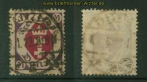 Danzig Mi #  86 gestempelt geprüft Infla Berlin (35195)