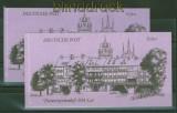 DDR Markenheftchen Mi # 10 postfrisch und gestempelt Bauwerke (34783)