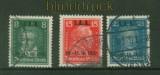 dt. Reich Mi # 407/09 Internationales Arbeitsamt gestempelt (41296)