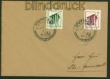 dt. Reich Mi # 692/93 Reichsgartenschau Ersttagsbrief FDC (41345)