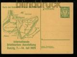 Danzig Mi # GSK P 46 internationale Briefmarkenausstellung ungebraucht (34997)