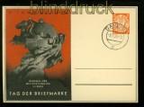 Danzig Privat-GSK Tag der Briefmarke 1938 Tagesstempel (35002)