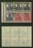 dt. Reich Heftchenblatt Mi # 19 gestempelt Kurzbefund Bechtold BPP (41513)