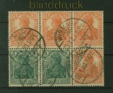 dt. Reich Heftchenblatt Mi # 22 gestempelt Kurzbefund Bechtold BPP (41514)