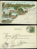 Hagenau farb-Litho-AK Gruss vom Truppenübungsplatz 1902 (d5892)