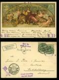 Bremen farb-AK Gemälde im Brener Ratskeller 1905 (d5904)
