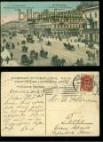 St. Petersburg farb-AK Perspective de Nevsky-Eglise Hallandaise 1909 (a1055)