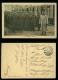 dt Feldpost 1. WK sw-AK Kriegsgefangene Russen 1915 (d0031)