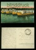 dt Feldpost 1. WK farb-AK Pioniere beim Brückenbau 1918 (d0032)