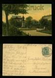 FORST farb-AK Bismarckplatz 1908 (d6221)