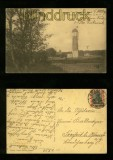 GRAAL sw-AK Wasserturm und Kirche 1920 (d6229)