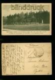 SAARBRÜCKEN sw-AK Das Ehrental bei Saarbrücken Totalansicht Feldpost 1918 (d6311)