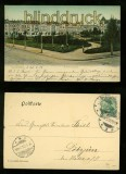 HALBERSTADT farb-AK Friedrichsplatz 1903 (d6325)