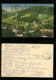 SCHMIERLACH farb-AK im Kayserberger Tal Feldpost 1916 (d6371)