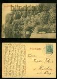 MALMEDY sw-AK Die Felsen von Warche bei Bellavaux 1909 (d6390)