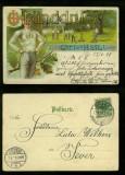 Gut-Heil farb-AK Turner 1899 (d6428)