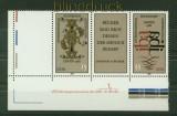 DDR Mi # 2697/98 DV postfrisch Buchkunstausstellung WZd 529 mit Leerfeld (34716)