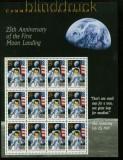 USA Mi # 2477 postfrisch Schmuckbogen 25 Jahre Mondlandung (35245)