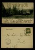 BAD NEUHAUS (Saale) sw-AK Kur- und Schlosshotel 1907 (d6445)