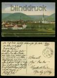 EDENKOBEN farb-AK Totalansicht Feldpost 1916 (d5984)